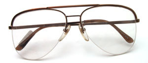 Copper Brown Rimless Nylon in top quality from Selecta USA