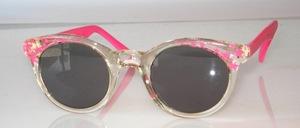 Hübsche Kinder Mädchen Sonnenbrille