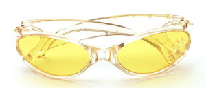 Sun Rock Sport - Sunglasses In cristall with yellow discs or dull gray with gray discs