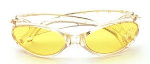 Sun Rock Sport - Sonnenbrille In cristall mit gelben Scheiben oder matt-grau mit grauen Scheiben