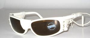 Kinder-Jugend Sport Sonnenbrille mit echtem Leder Seiten-und Nasenschutz