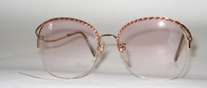 Attractive, semi-rimless Nylor ladies metal mount, Made in Japan for Selecta USA, late 80s
