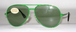 Pilot metal sunglasses of the late 70s from Pittion France
