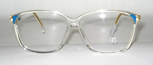 Elegant, elegant ladies acetate frame from FEDON - Italy