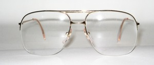Classic men's Nylor metal frame, Made in Italy for Papillon