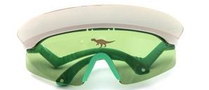 Panorama Kinder-Sonnenbrille mit Dinosauriern am Sonnendach