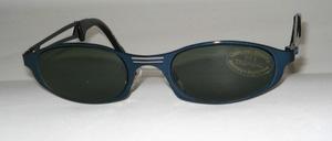 Sportliche Metall Sonnenbrille in Jugendgröße