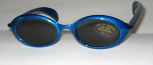 Blue sunglasses for toddlers