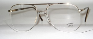 High-quality, semi rimless Pilot Nylor men's frame