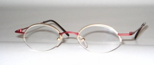 Half rimless flat oval Nylor socket, Made in Italy