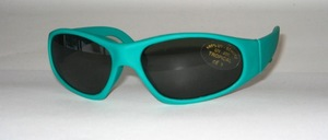 Children - sunglasses made of soft rubber material, but still a good fit