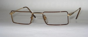 A slightly smaller reading glasses <br /> socket with flexible hinges