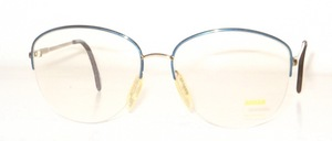 A semi rimless, large Nylor metal female Frame from the Collection YVES <br /> CHANTAL - 80s