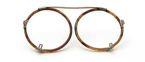 Alter runder Vorhänger ca 1920 - 30, Celluloid,  44 mm Durchmesser