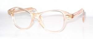 Eine etwas kräftige, alte Cellulose Azetat<br /> Brille mit tollen Ziernieten aus den 30er Jahren