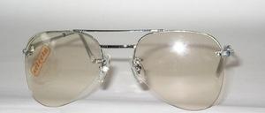 Halb randlose Pilot Bohr Brillenfassung mit 2 Schrauben pro Glas