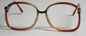 A very high quality and timeless ladies metal frame completely antiallergic coated