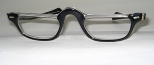 A special acetate half-frame, <br /> handmade in France for Selecta USA