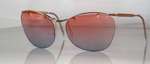 Eine ' vintage ' randlose Sonnenbrille der echten 50er Jahre