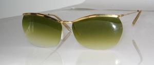 Echt alte randlose Sonnenbrille aus den echten 50er Jahren, Made in France
