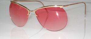 Echt alte randlose Sonnenbrille aus den 50er Jahren, Made in France