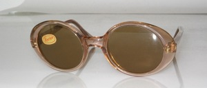 Pretty old oval 70s acetate children's sunglasses from Giessen Germany
