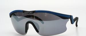 Eine Panorama Sport Sonnenbrille mit ergonomisch geformten Bügeln