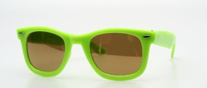 "A striking in the famous ""Wayfarer style"" sunglasses in children size"
