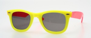 "Poppy, in the famous ""Wayfarer style"" sunglasses in children size"
