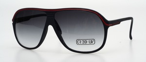 A sporty masculine sunglasses