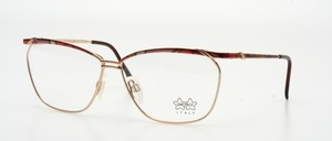 A high-quality, very fashionably designed ladies metal frame with flexible hinges