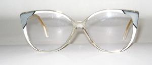 Gefällige, elegante Damen Azetat Brillenfassung von K+B, Made in Italy