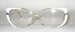 Gefällige, elegante Azetat Brillenfassung von K+B, späte 80er Jahre