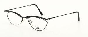 Eine leichte, schicke rautenförmige balken Metall Brillenfassung