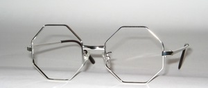 Stable, octagonal, real rhodium late 70s Frame of SELECTA USA