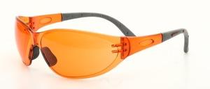 Eine sportliche Sonnenbrille für schlechte Sichtverhältnisse