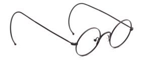 Der absolute Klassiker in Rund mit Nasenstegen und mit Sportbügeln 165 mm Länger versehen