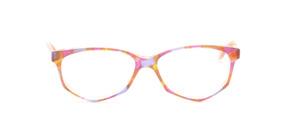 Acetat Damenbrille in Schmetterlingsform aus den 1990er Jahren in Pastelltönen marmoriert