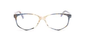 Acetat Damenbrille in Schmetterlingsform aus den 1990er Jahren in Pastellfarben marmoriert