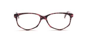 Acetat Damenbrille in Schmetterlingsform aus den 1990er Jahren in Schwarz  Rosa marmoriert