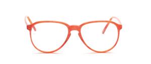 80er Jahre Acetat Brillenfassung mit Schlüssellochsteg in hellem Bernstein marmoriert