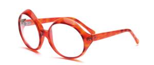 Große, ovale 1970er Jahre Acetat Sonnenbrille