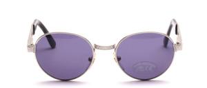 Eine stabile, klassische Panto unisex Metall Sonnenbrille
