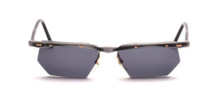 A high quality, semi rimless aluminum sunglasses