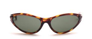 Eine sportliche, leicht gekurvte unisex Sonnenbrille