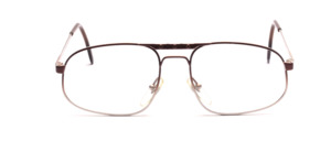 Smaller men's Frame in brown - gray gradient with double bridge