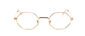 Aparte 8-cornered metal frame in the style of the Hudson glasses from the USA