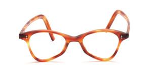 Eine schöne, antike Brillenfassung mit seitlichen Ziernieten