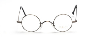 Round metal frame in antique silver from Braun Classics
