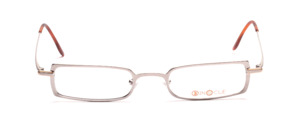High quality and modern metal frame in matt silver